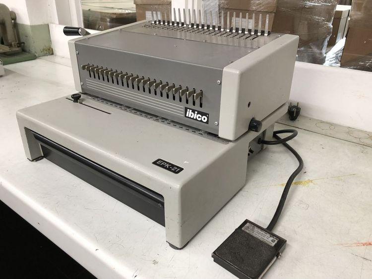 Ibico EPK 21, Electrical Punching
