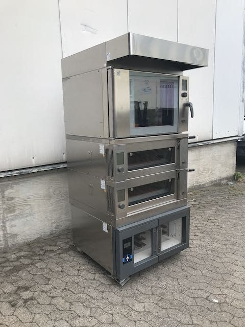 Wiesheu Backcombi EBO + B4 Combination Oven