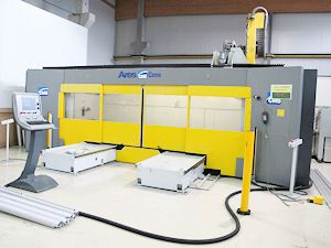 CMS CMS  high speed machining center 5 axis  mod.  ARES 48-18-APC-PX5 5 Axis
