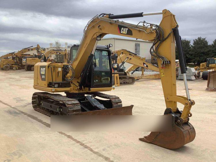 Caterpillar 307E Tracked Excavator