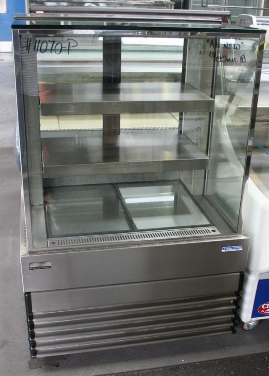 Koldtech Square Glass Cake Display Fridge