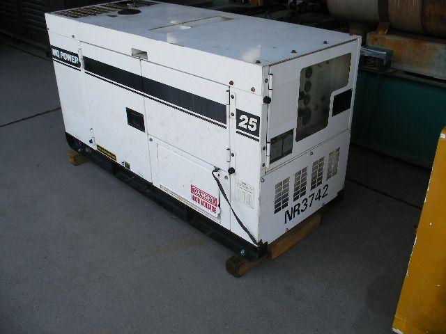 Isuzu MQ Power Izusu Good Used Generator Set. 20