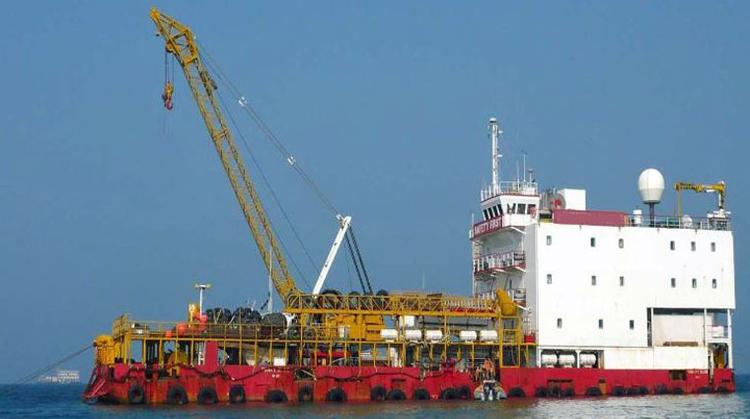 134-man Accommodation Work Barge