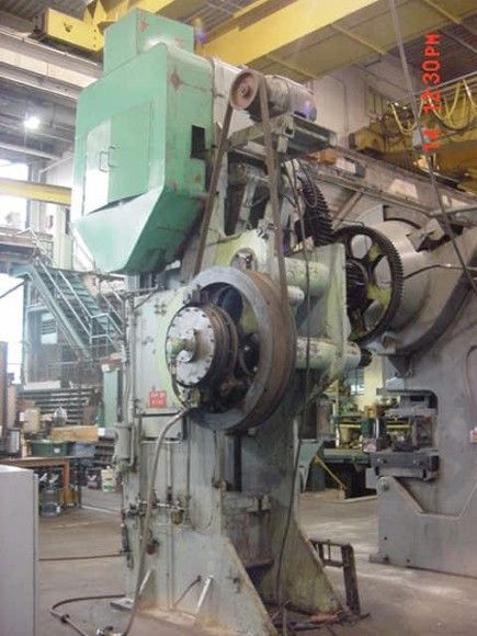 Bliss 3-1/2B DOUBLE ACTION PRESS 120 TON