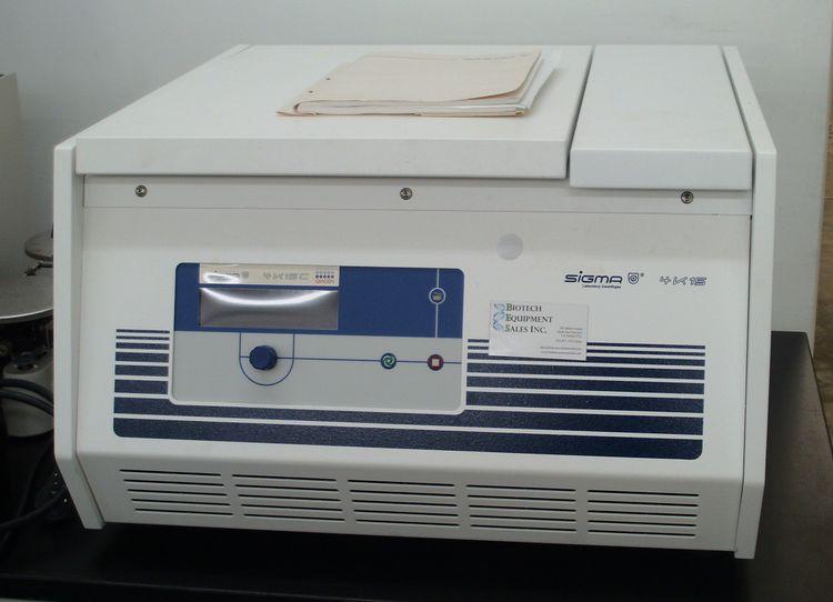 Sigma 4K15, Refrigerated high-speed benchtop centrifuge