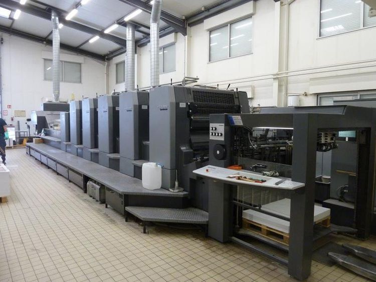 Heidelberg CD 102-5 + LC 720 x 1020 mm
