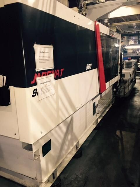 Cincinnati Milacron MTS-500 500 T