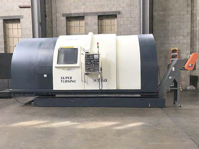 Johnford Fanuc 18T CNC Control 1200 rpm HT-60C-2D 4 Axis
