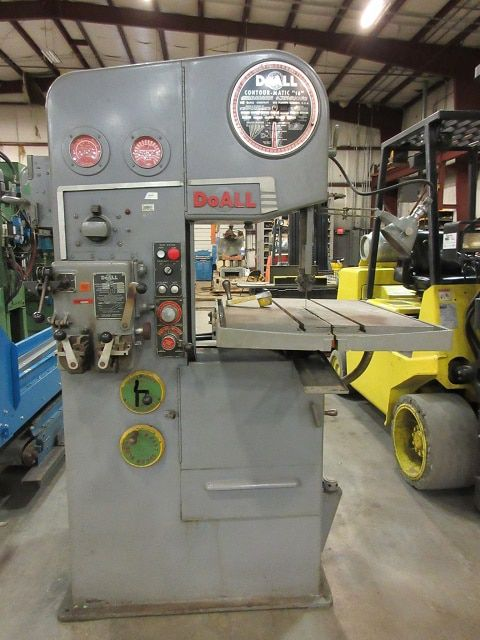 Do All Vertical Band Saw Semi Automatic