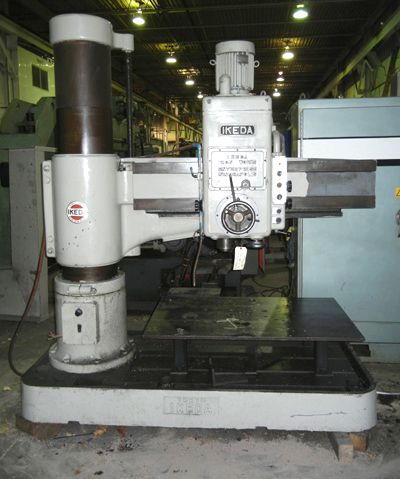 Ikeda RADIAL ARM DRILL RM1300