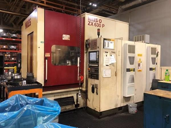 Niles ZX 630 P Variable CNC GEAR GRINDER