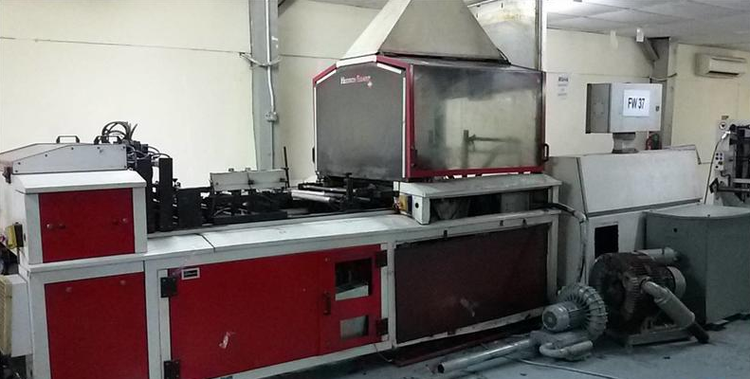 Hudson Sharp 4750 W Bag making machine