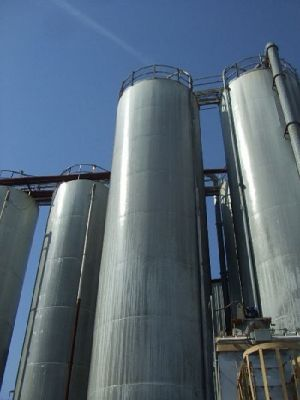 Others Mild Steel Cone Bottom Silo