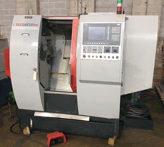 Emco Siemens 840D CNC Control 8000 RPM Emcotrun 332MC 2 Axis