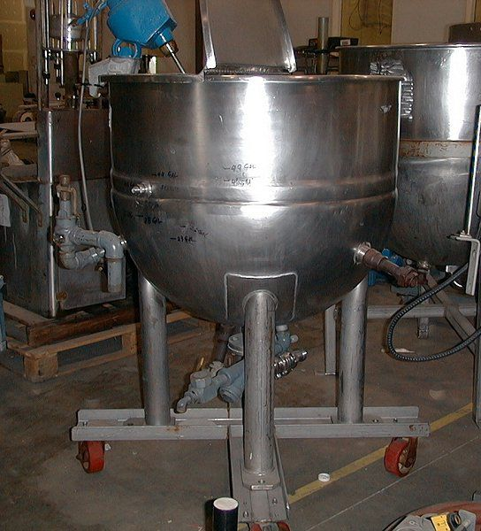 Elliott 100 Gallon Kettle
