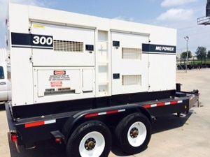Multiquip DCA-300SSCU2 Portable Deisel Generator Set 300 kva