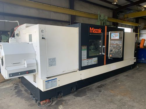 Mazak MAZATROL MATRIX NEXUS 2 CNC CONTROL 2000 RPM QUICK TURN NEXUS 450-II CNC LATHE 3 Axis