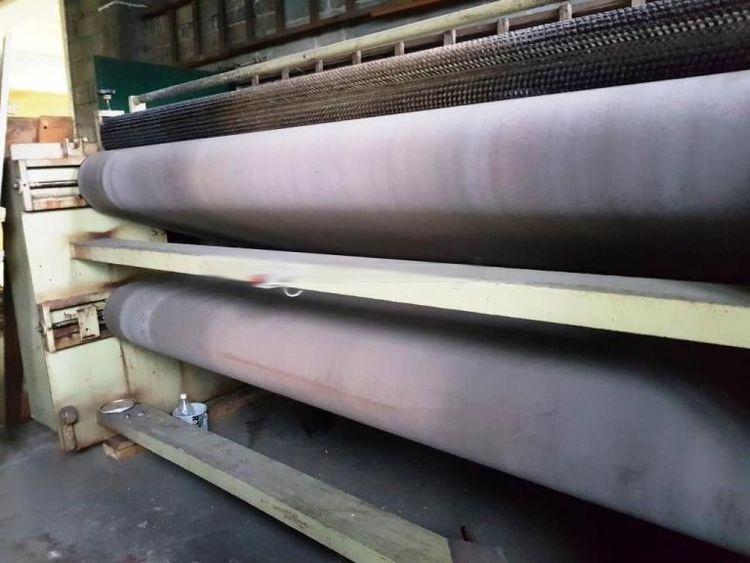 Rizzi PRNA 3 roller sammying machine for wet blue