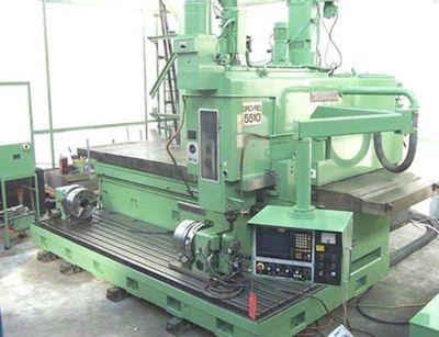 Droop & Rein FGS 130 Vertical milling machine Max. 1600 rpm