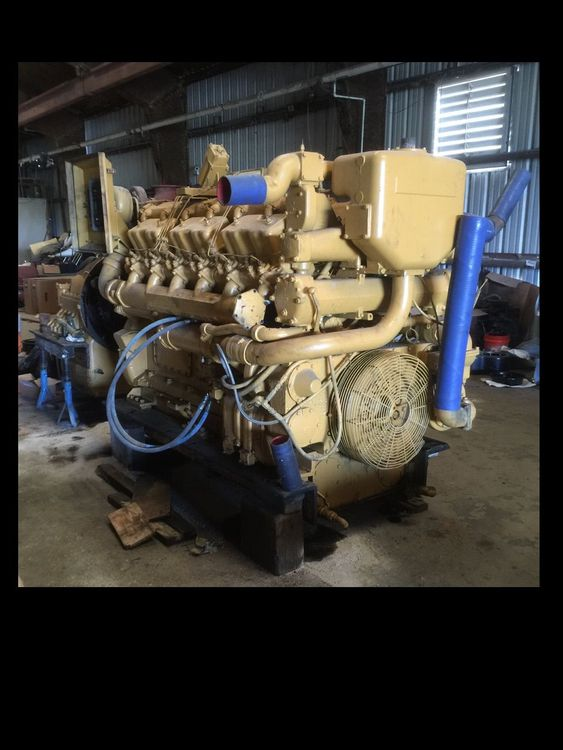 Caterpillar Cat D398TA Diesel Marine Engine