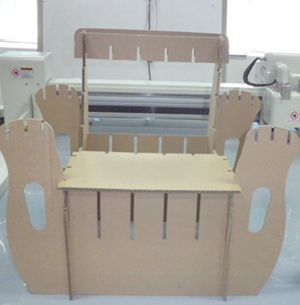 Others corrugated paper chair cutter plotter InkJet Printers cutting machine
