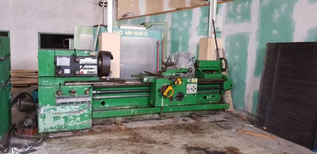 TOS Engine Lathe Variable SUS 63/1500