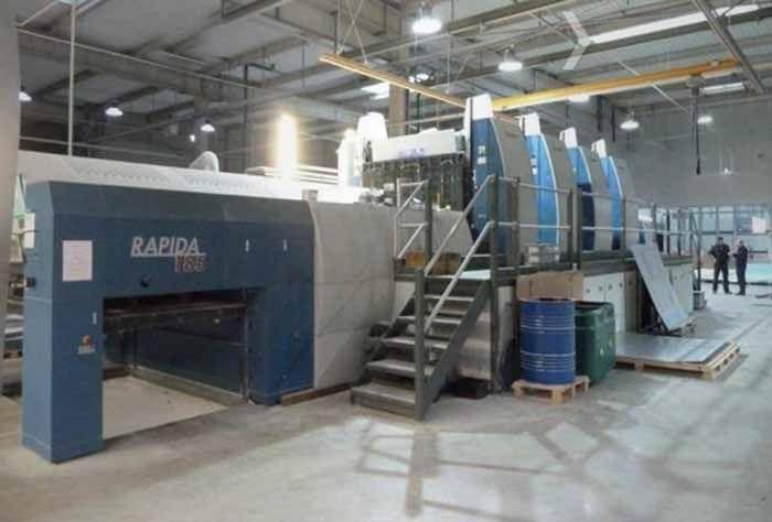 KBA Rapida 185-4 185 x 138 cm
