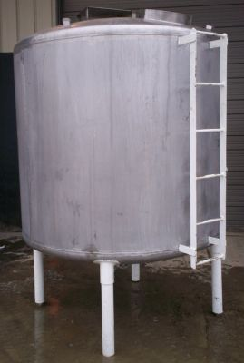 Others Vertical Stainless Steel Holding Tank 1,000 Gallon