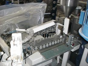 Norden GAB/GAP, PLASTIC AND METAL TUBE FILLING AND SEALING MACHINE