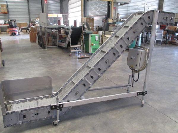 Velteko Packaging Machine (VPM) DYNA CON Conveyor