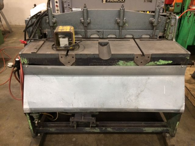 "Whitney Jensen 16 Ga x 42"" Mechanical Shear"