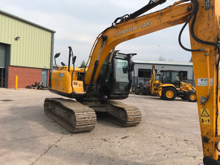 JCB JS145Auto Excavators