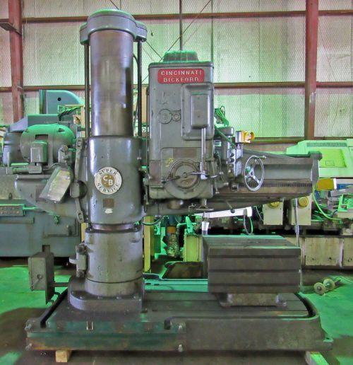 Bickford, Cincinnati SUPER SERVICE RADIAL ARM DRILL 1500 RPM