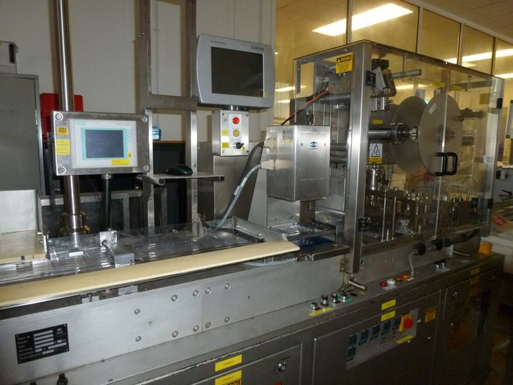 Noack DPN 760-S 120 x 76mm Blister packing machine
