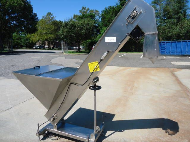 Others FEED SYSTEMS INCLINED CAP ELEVATOR/FEEDER