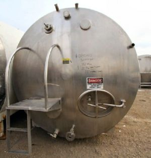 Others Horizontal Stainless Steel Tank 3,000 Gallon