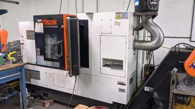 Mazak MAZATROL MATRIX NEXUS II CONTROL 4000 RPM QTN 250MY-II 2 Axis