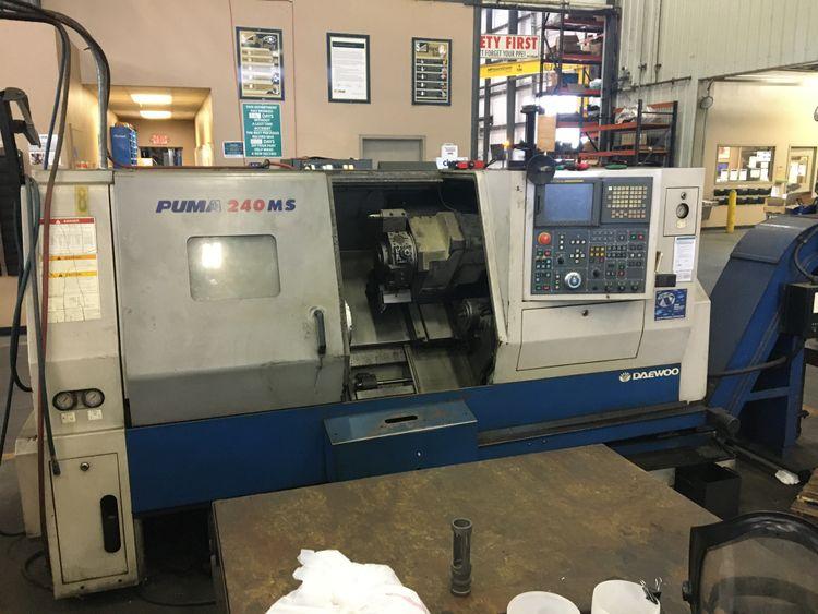 Daewoo CNC Controller 5000 rpm Puma 240 MSB 2 Axis