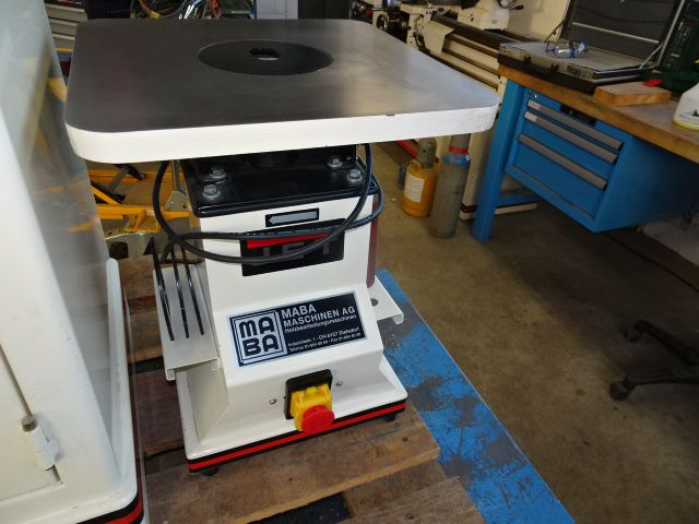 Jet JBOS-5, Cylindrical grinding machine