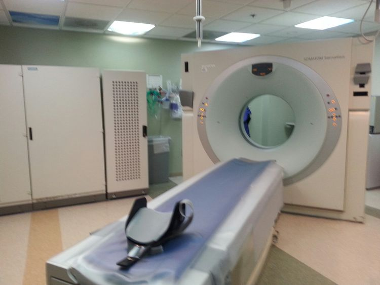 Siemens Sensation 16 Slice CT Scanner