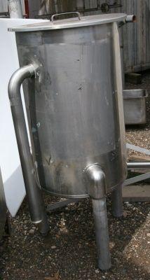 Utensco Single Shell Stainless Steel Tank 33 Gallon