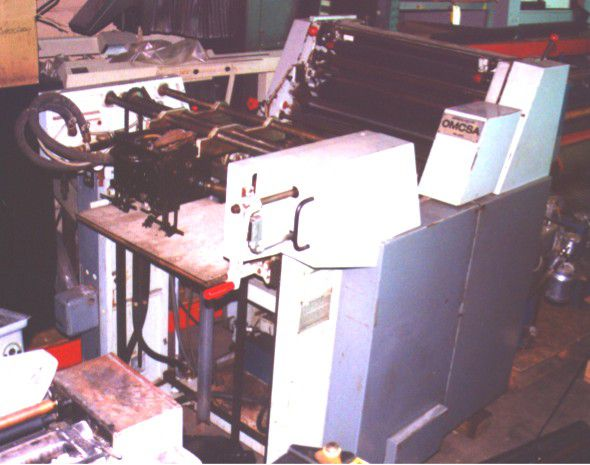 "2 Harris L125C, 1 color Offset machine 19""x25"""