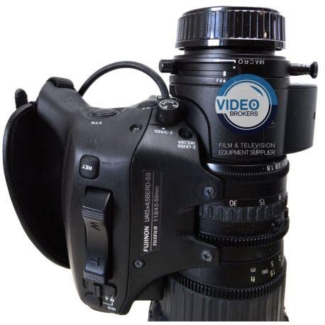 "Fujinon UA13x4.5BERD-S9 4K UHD Broadcast wide angle ENG lens 2/3"""