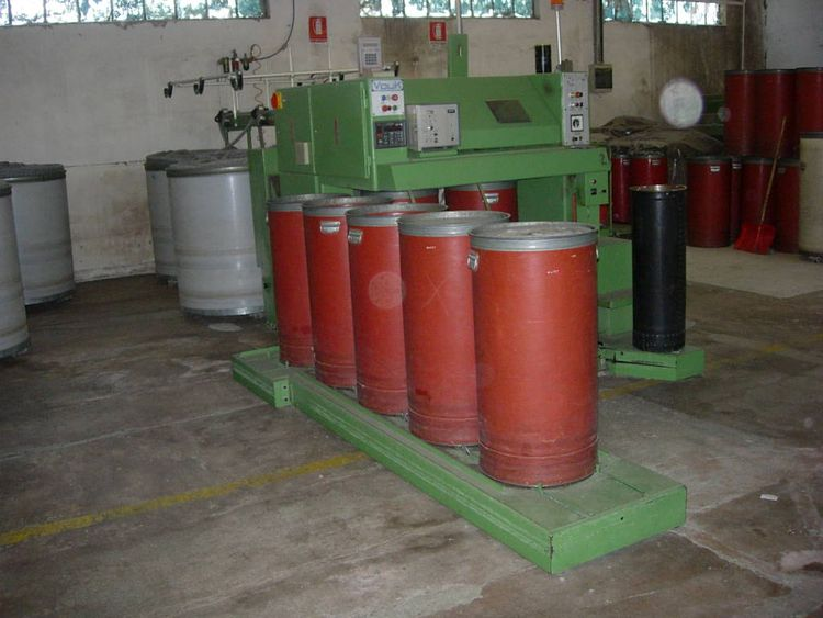 Marzoli, Ormic, Vouk Preparation for carding machines