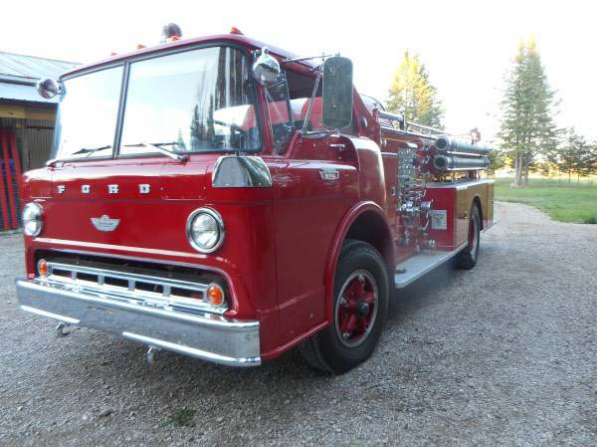 Ford F-850, Pumper