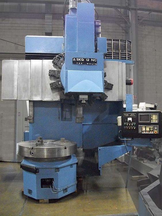 Toshulin SKQ-12NC CNC VERTICAL BORING MILL