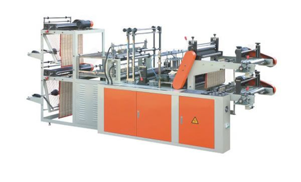 Fubang 1 FB500-800 Computer Control High-speed Vest & Flat Rolling Bag-making Machine