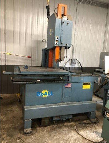 DoAll 2618 Band Mill Plate Saw Semi Automatic