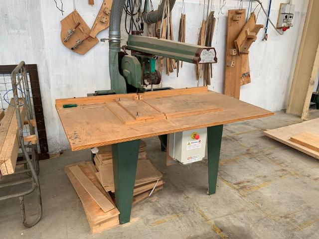 Omga RADIAL 700 P5, DOUBLE RADIAL ARM SAW