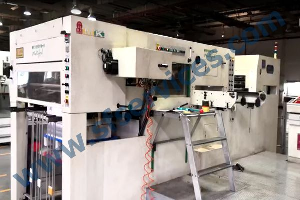 Mk 1050YMI-II Hot Foil Stamping and Die Cutting & Creasing Press with Hologram